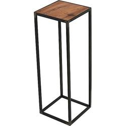 Spinder Design John Bijzettafel Blacksmith Eikenhout - 60 cm