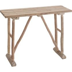Nature - Sidetable - rechthoekig - hout - naturel