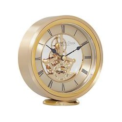 London Clock Company Round Carriage Clock, Gold