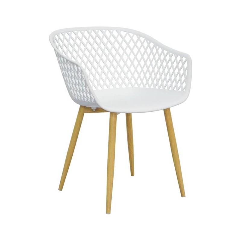 Tango stoel - wit - set van 4 -