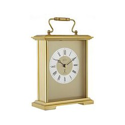Acctim Radio Controlled Carriage Clock, Gold