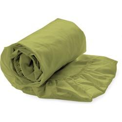 Split-topper hoeslaken green oasis - 100% Katoen-perkal