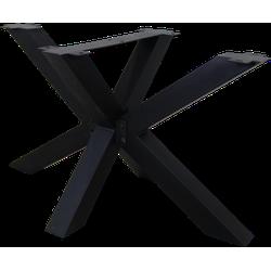 Onderstel - 3D-Model - gepoedercoat zwart - metaal