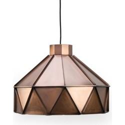 Hanglamp Triangle Antiek Koper - Label51 - 42 x 42 x 32 cm
