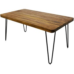 Kick industrial Eettafel Triangle 180
