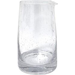 HK-living karaf glas 70's stijl 11,5x11,5x18,5cm