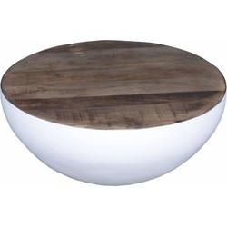 Salontafel Lauro klein wit