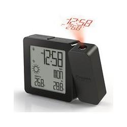 Oregon Scientific Projection Alarm Clock with Weather Forecasting, Black