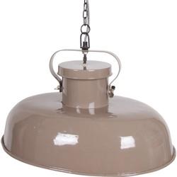 Sale Firm Ovalen Hanglamp Metaal Taupe