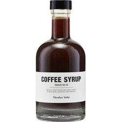 Nicolas Vahe - Koffiesiroop Ierse rum - 25CL