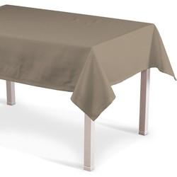 Rechthoekig tafelkleed grijs-bruin