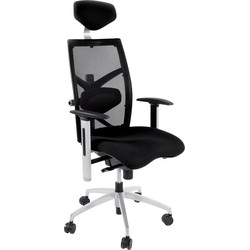 24Designs Bureaustoel London - Zwart