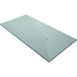 Acquabella Base Douchevloer Slate 90x100x3 cm Cemento