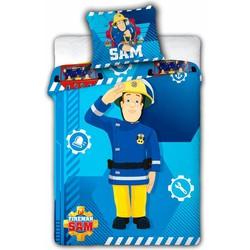 Dekbedovertrek Brandweerman Sam Ledikant Baby - 100x135cm