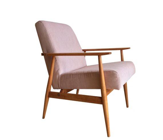 Leuke Design Fauteuil.Mid Century Fauteuil Hanna Lis Deens Design Roze Blush