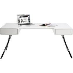Kare Design Bureau Desk Insider - 160 X 75 Cm - Wit