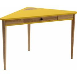 ASHME corner desk geel