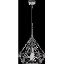 Hanglamp Scandinavian 50 cm nickel satin