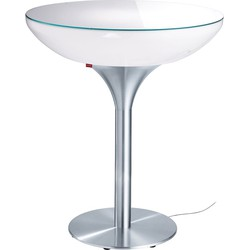 Moree Lounge 105 Verlichte Bartafel Indoor - Wit