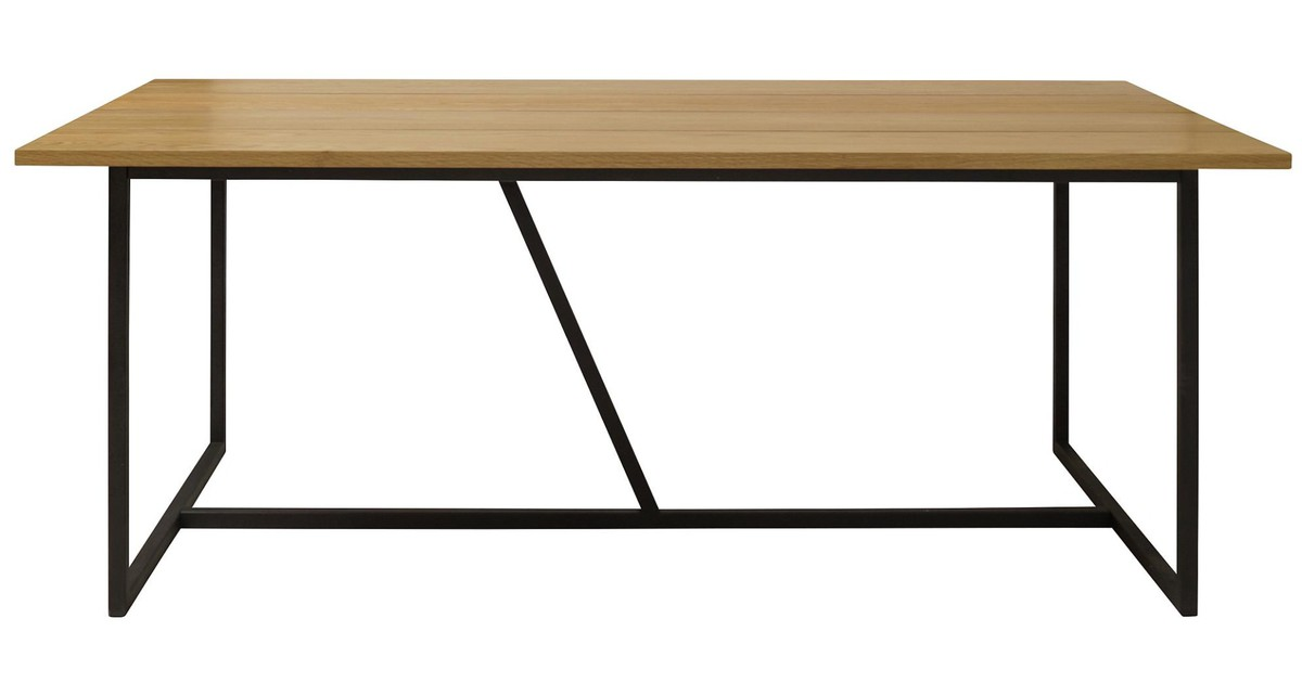 Interstil Apartment Eettafel - 200x90x75.5 - Eiken