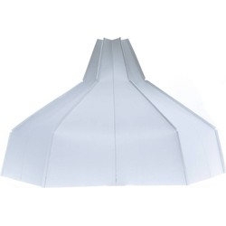 Folded Lampshade Grey Gradient