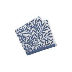 Morris & Co Morris & co willow bath towels china blue