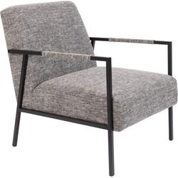 Wants&Needs fauteuil Wasakan grijs 76 x 60,5 x 76