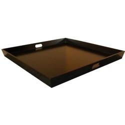 Dienblad - 80x80 cm - zwart