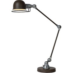 Lucide Honore Bureaulamp - Roest bruin