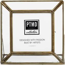 PTMD Kayan brass Photoframe  16 x 5.0 x 16 cm