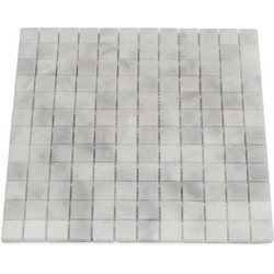 Mugla White Polished 2,3 x 2,3 x 1 cm