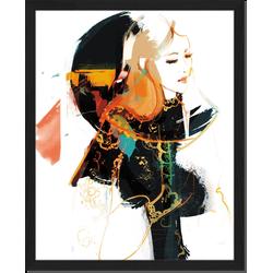 Alexandra - Fotoprint in houten frame - 40 X 50 X 2,5 cm