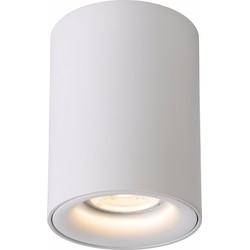 Lucide Plafondspot Bentoo-LED GU10 1-Lichts Dimbaar - Wit