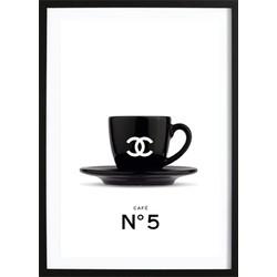 Chanel Coffee No. 5 Poster (21x29.7cm)