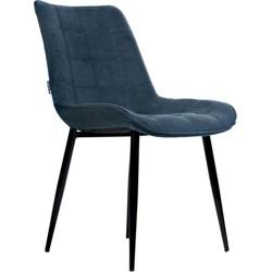 O-form - stoel Mai - blauw