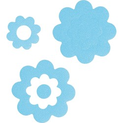 Sealskin Badbloem Antislip stickers Blauw
