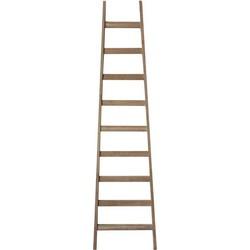 LABEL51 - Decoratie Ladder 56x4x217 cm - Industrieel - Naturel
