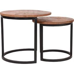 LABEL51 - Salontafel Set Duo - 50 cm   40 cm