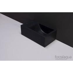 Forzalaqua Venetia XS fontein 29x16x10 cm Graniet gezoet