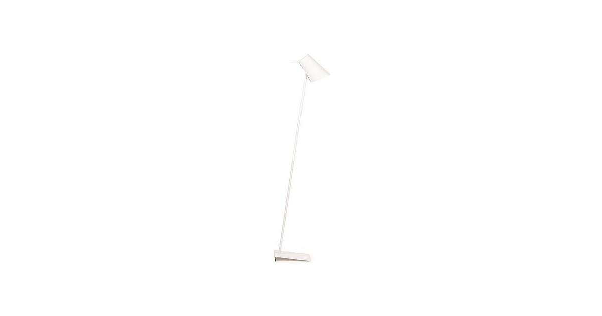 It's about RoMi Cardiff Vloerlamp 140 cm - Wit