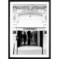 Chanel Store Poster (21x29,7cm)