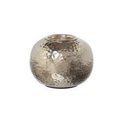 Casa Couture Hammered metal tea light holder