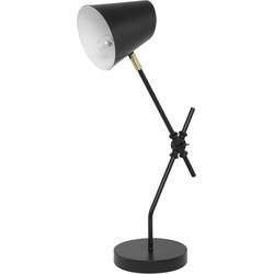Bureaulamp zwart HORTON