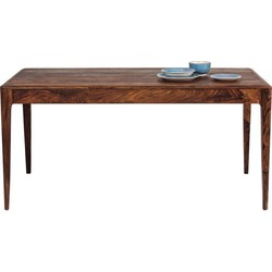 Kare Design Tafel Brooklyn Nature - L160 X B80 X H76 - Sheesham Hout