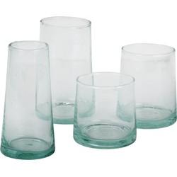 glass coneshaped S-M-L - (M) medium