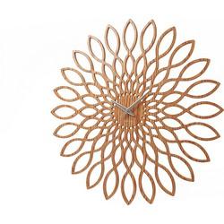 Karlsson Sunflower Wandklok - Hout