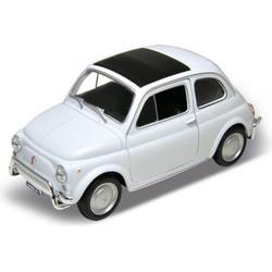 Villa Madelief Fiat 500 miniatuur wit