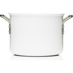 Eva Trio White Line saucepan - 4,8L - Web exclusivity. White