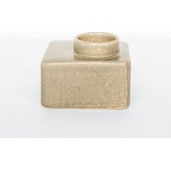 Wax light holder stone - Beige