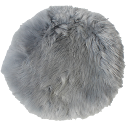 Schapenvacht Rond - ø40 cm - grijs